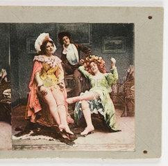 Three actresses  c 1895 .