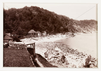 'Babbacombe  From the Beach'  c 1880.