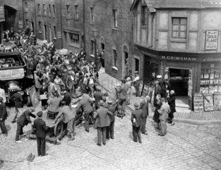Filming at Gaumont Studios  5 June 1931.