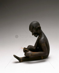 Wooden statue  Tanzanian  18th or 19th century.