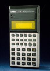 Casio College FX-80 pocket scientific electronic calculator  c 1982.