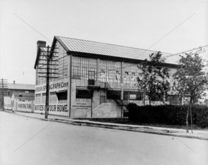 Urban film studio  1919.
