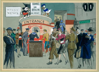 News Theatre at Waterloo Station  November
