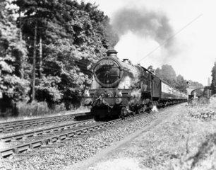 'King Edward VI' steam locomotive  1947. 'K