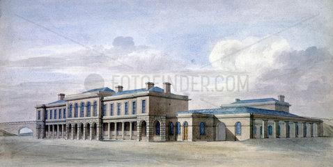 (Old) York Station  c 1870.