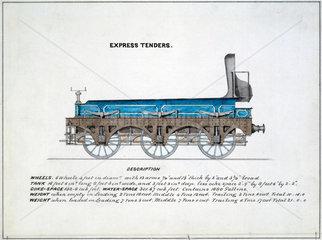 'Express Tenders'  1857.