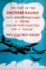 'Will you help  please?'  poster  1939-1945.