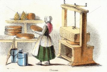 'Cheese'  c 1845.