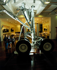 The Messier-Dowty aircraft landing gear  Science Museum  London 1996.