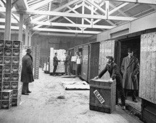 Carr's Depot  6 December 1927.