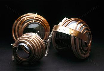 'Jedi' helmets for magnetic resonance imaging (MRI) of the brain  1984.