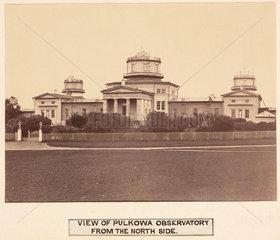 Pulkowa Observatory  St Petersburg  Russia  1876.