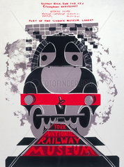 'York  the National Railway Museum'  c 1976.