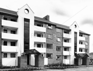 Refurbished flats  March 1984.