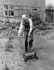 Clement Attlee  Labour politician  19 April 1945.