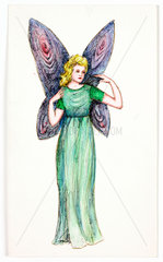 Drawing of a fairy  c 1983