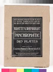 Wratten & Wainwright photographic plates  c 1910.