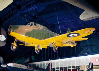 Gloster-Whittle E28/39 jet aeroplane  1941.