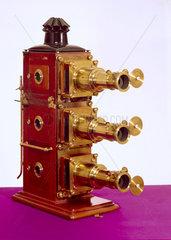Early triunial lantern  c 1890.