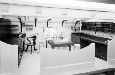 Zoology laboratory in HMS Challenger  1872-