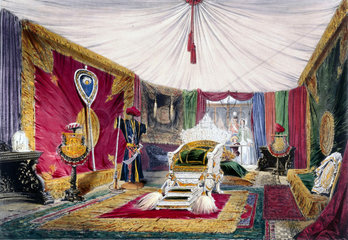 Indian No 1stand at the Great Exhibition  Crystal Palace  London  1851.