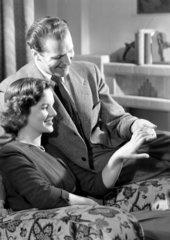 Happy couple  1950.