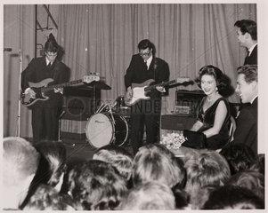Princess Margaret and Lord Snowdon. 22/03/1962
