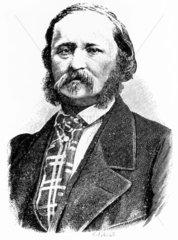 Edouard-Leon Scott  French inventor  c 1865.