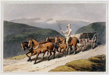'East Riding or Wolds Waggon'  1814.