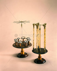 Electrical chimes and fulminating tubes  1780s.