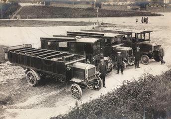 Motor buses  1920s.