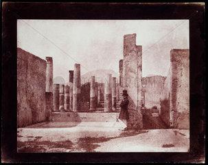 The House of Sallust  Pompeii  c.1850.