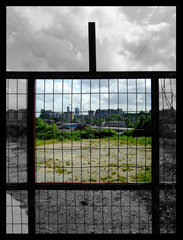 'Through the Square Window'  Leeds  West Yorkshire  2007.