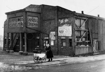 The Empress Cinema  Lancashire  13 February 1953.