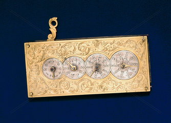 Pedometer  early 18th century.