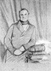 Charles Babbage  British mathematician and computing pioneer  1845.
