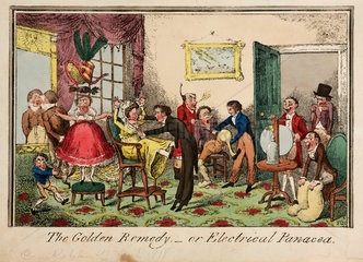 'The Golden Remedy'  1818.