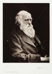 Charles Darwin  English naturalist  c 1870s.