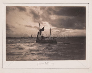 'End of a Stormy Day'  1901