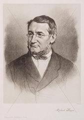 Julius Robert von Mayer  German physicist  c 1870s.