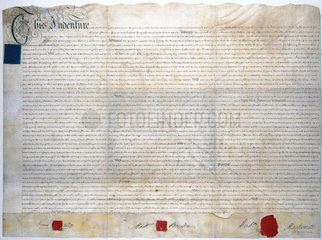 Contract between Boulton & Watt and British Cast Plate Glass Co  1788.