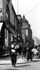 A busy Regent Street  London  c 1910s.