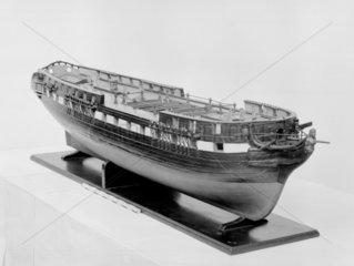 Model of a 50-gun frigate  1813.