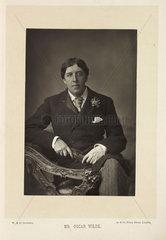 'Mr. Oscar Wilde'  1891.