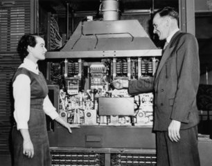 Powers Samas Programme Controlled Computer  c 1957.