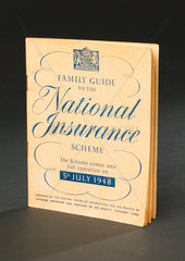 'Family Guide to the National Insurance Scheme'  booklet  1948.