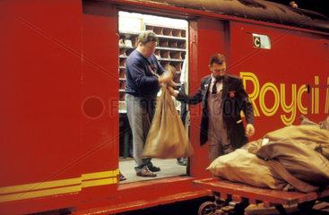 Post Office train  1987.
