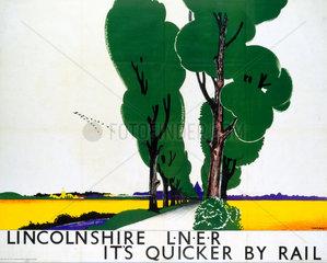 'Lincolnshire'  LNER poster  1923-1947.