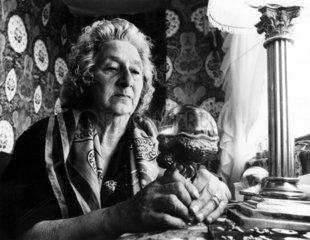 Gypsy Lee  Blackpool fortune-teller  1976.