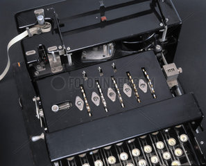 Typex Mk III cypher machine for field use  late 1930s.